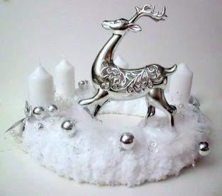 Makerist - Adventskranz Winterzauber - 1