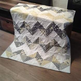 Makerist - ABO Chevron Quilt - 1