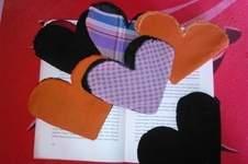 Makerist - Lesezeichen aus stoff für verliebte - 1