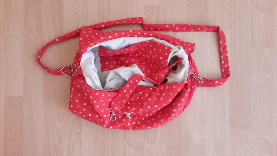 Makerist - Umhängetasche mit passender Taschentüchertasche - Nähprojekte - 2