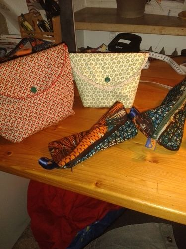 Makerist - meine diesjährigen Weihnachtsgeschenke..Täschchen und Stiftemäppchrn - Nähprojekte - 1
