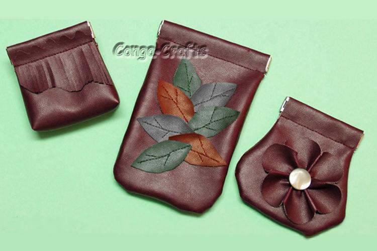 Makerist - DIY Schnappverschlusstasche aus Kunstleder + Schnitt erstellen - DIY-Projekte - 1