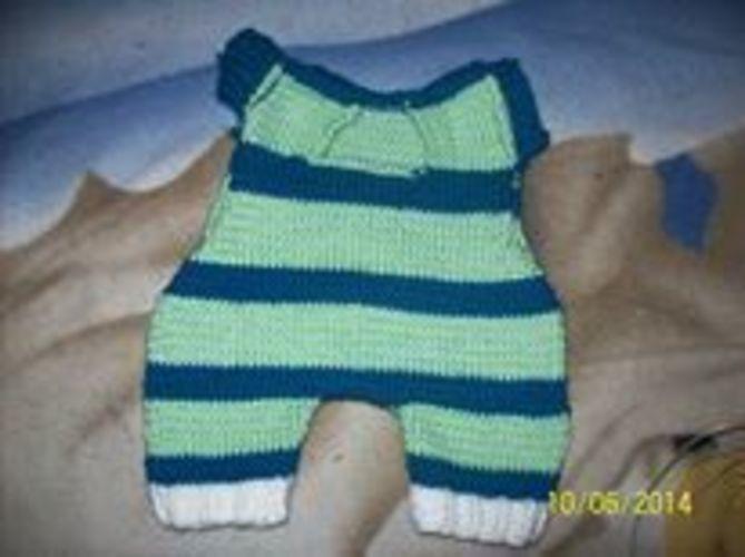 Makerist - mein erster Baby-Strampler - Strickprojekte - 1