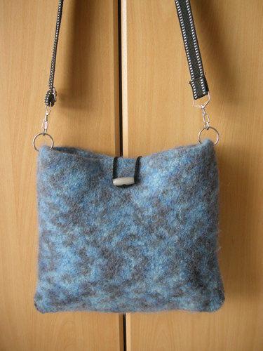 Makerist - gefilzte Tasche - Häkelprojekte - 2