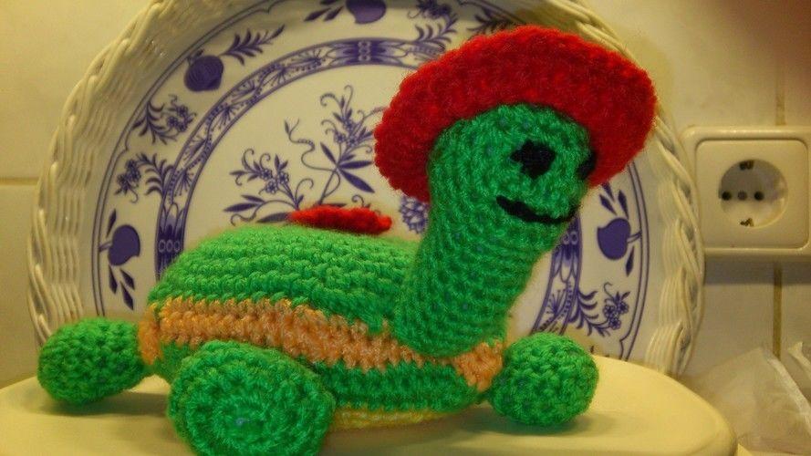 Makerist - Feuerwehr und Schildkröte ist ein Geschenk für eine Bekannte - Häkelprojekte - 2