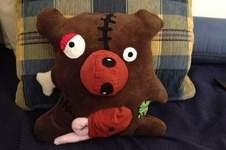 Makerist - Kuscheliger Zombie Bär  - 1
