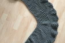 Makerist - La Fenice der Schal von Sylvie Rasch - 1