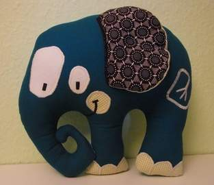 Makerist - Stofftier Elefant - 1