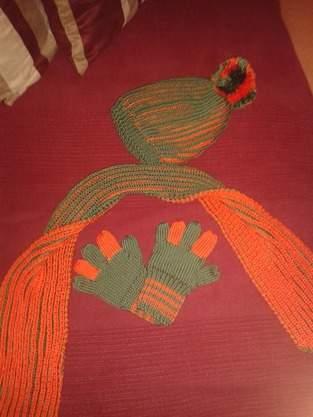 Makerist - Mütze, Schal und meine ersten Handschuhe - 1