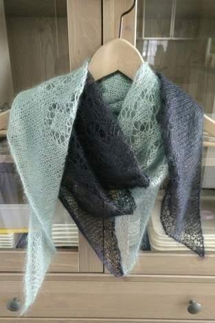 """Makerist - Mein erstes Lace-Tuch """"Freya"""" - 1"""