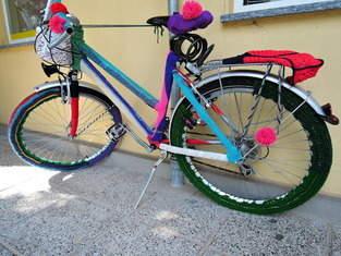 Makerist - Fahrrad eingestrickt - 1