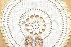 Makerist - Häkelteppich / Doily rug - 1