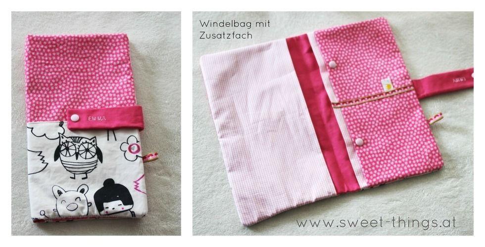 Makerist - Windelbag mit Zusatzfach - Nähprojekte - 1