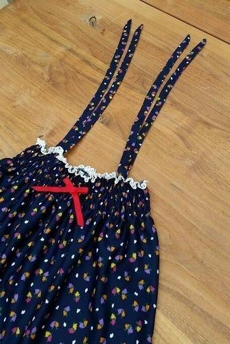 Makerist - Gesmoktes Trägerkleidchen aus Jersey für ein 3Jh altes Kind - Nähprojekte - 3