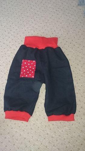 Makerist - Die Hose mit Herz für ein Herzchen  - Nähprojekte - 1