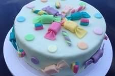 Makerist - Candy- / Frosch- & Ballonfesttorte - 1