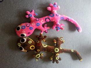 Makerist - Zwei Geckos - 1