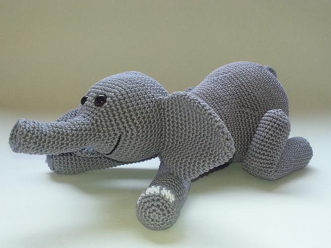 Makerist - Emilio Elefant - Häkelprojekte - 2