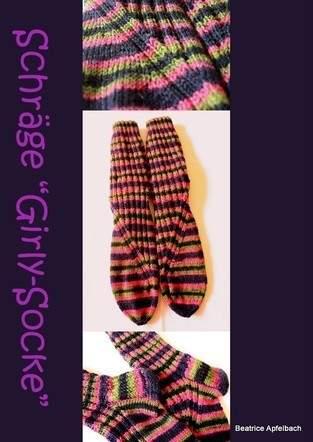 Makerist - Schräge Girly-Socke - 1