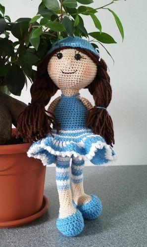 Makerist - kleine Lady - Häkelprojekte - 1