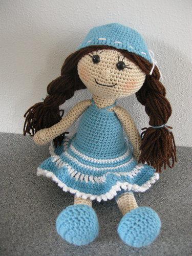 Makerist - kleine Lady - Häkelprojekte - 2