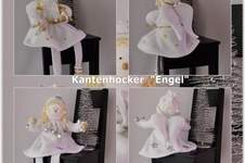 Makerist - Engel als Kantenhocker - 1