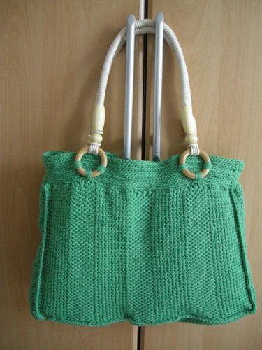 Makerist - Tasche in tunesischer Häkeltechnik - Häkelprojekte - 1