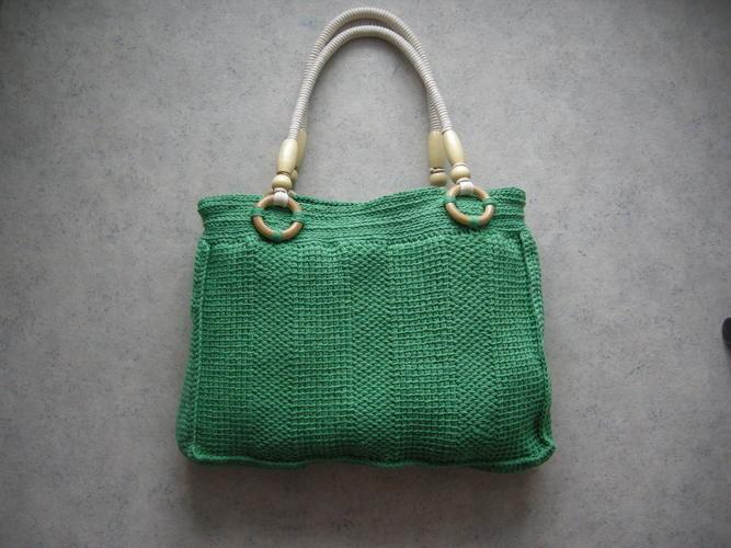 Makerist - Tasche in tunesischer Häkeltechnik - Häkelprojekte - 2