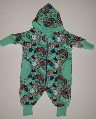 Makerist - Kuschelanzug aus Jersey für die 3. Little Miss - Nähprojekte - 1