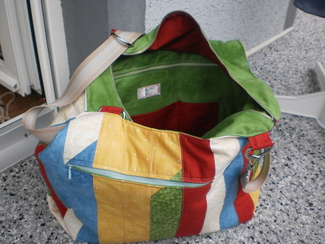Makerist - meine neue Handtasche - Nähprojekte - 3