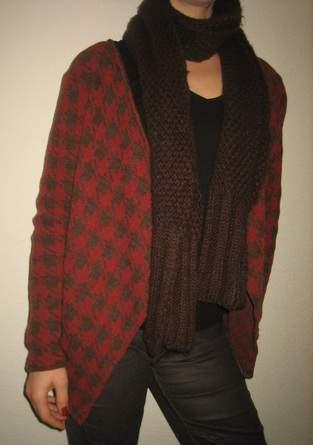 Makerist - warmer Cardigan mit Wollanteil - 1