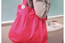 Makerist - Ballontasche in pink - 1