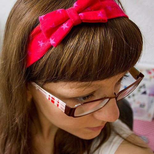 Makerist - Haarband mit Schleife - Nähprojekte - 1