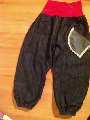 Makerist - kinderhose jeans - 1