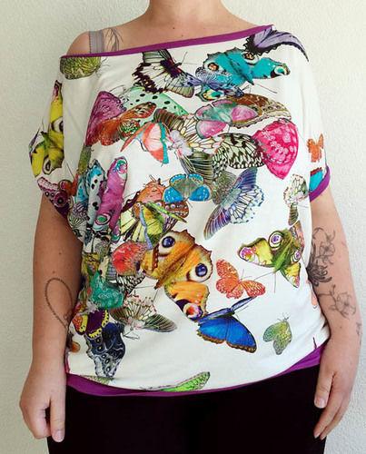 Makerist - Schmetterlings-Shirt - Nähprojekte - 1