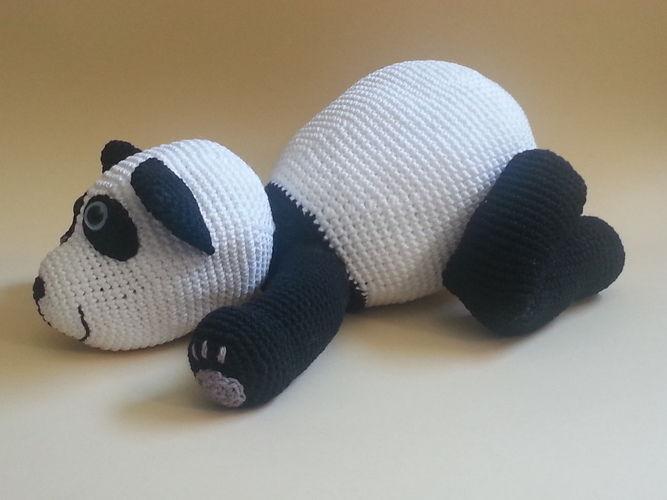 Makerist - Panda Patrick - Häkelprojekte - 2