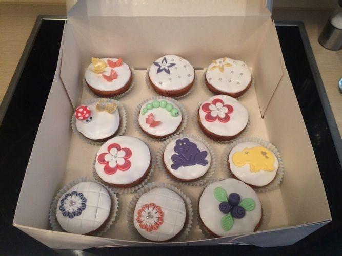 Makerist - Fondant Muffins :-) - Torten, Cake Pops und Cupcakes - 1
