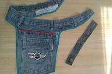 Makerist - Hüfttasche aus alter Jeans mit Erweiterungsmöglichkeit  - 1