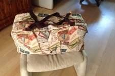 Makerist - Gobelin-Reisetasche für meine Schwägerin zum Geburtstag - 1