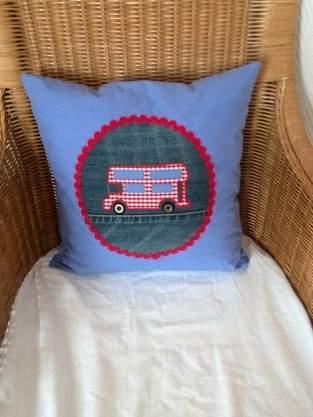 Makerist - Kinderkissen mit Bus Motiv - 1