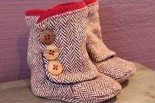 Makerist - Baby-Booties - 1