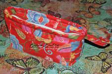 Makerist - Kosmetikasche mit tiefliegendem RV - 1