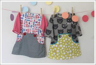 Makerist - Louisa Dress aus Jersey und Baumwolle gemixt - 1