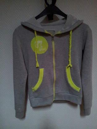 Makerist - Sweatshirtjacke aufgepimpt - 1