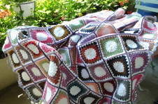 Makerist - Meine 3. Decke ist fertig! - 1