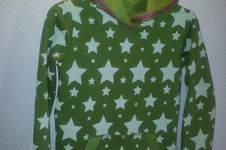 Makerist - Kaputzenshirt mit Sternen - 1