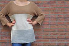 Makerist - Kuscheliger Blockstreifen Pullover - 1
