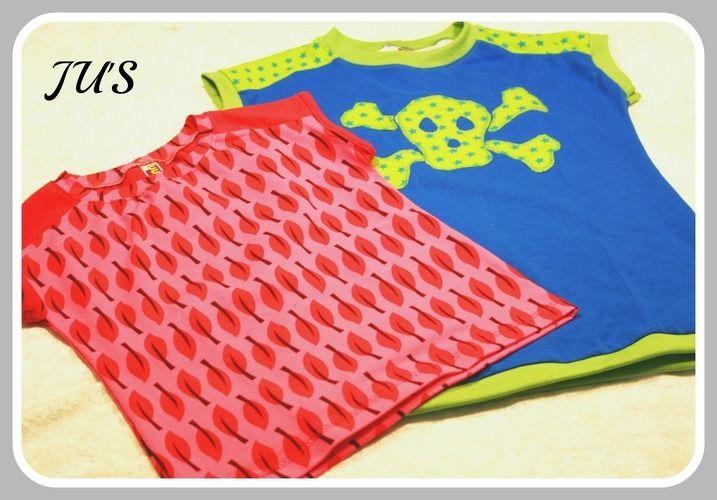 Makerist - Super Sommershirts für Kinder...:-) - Nähprojekte - 1