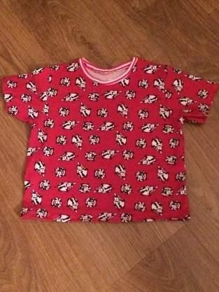 Makerist - Kindershirt für meine Enkeltochter aus lustigem Kuh-Jersey - 1