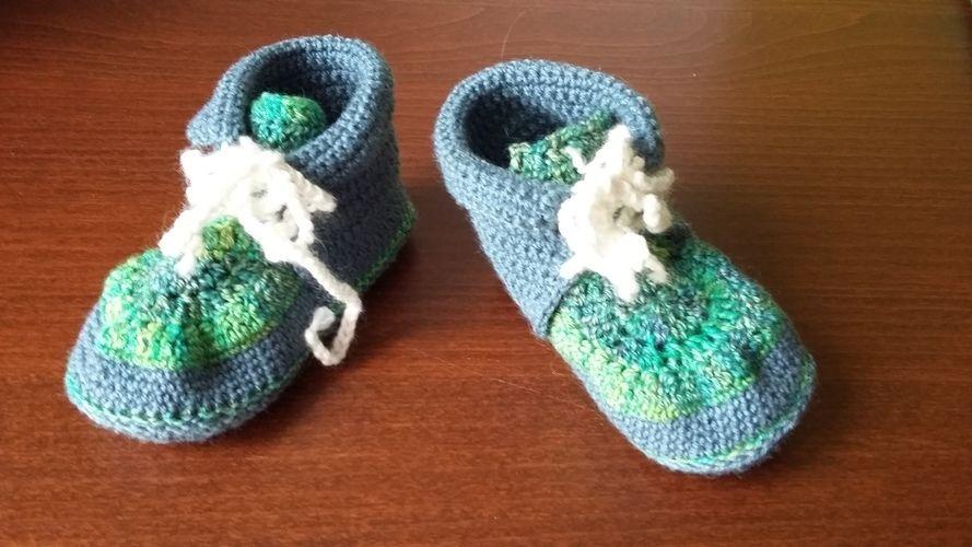 Makerist - Babypulunder mit passenden Schuhen - Häkelprojekte - 3